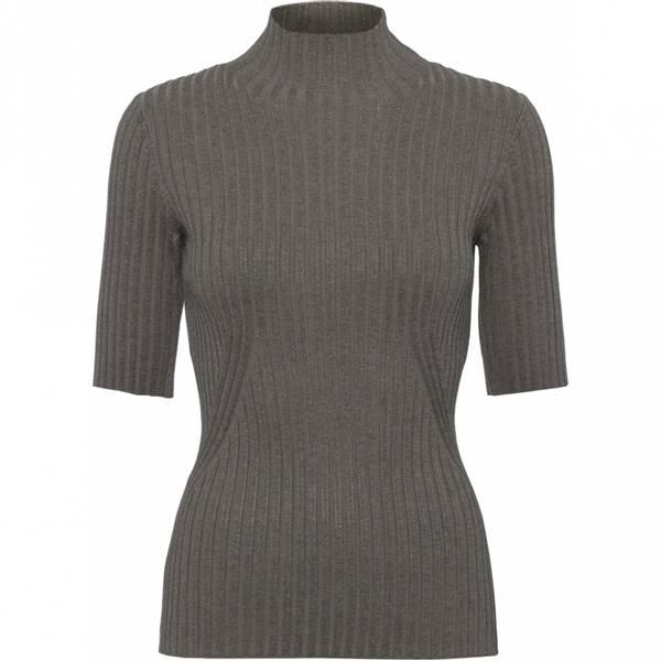 Bilde av Norr - Karlina S/S knit top brun