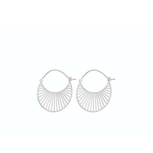 Bilde av Pernille Corydon - Ø Large Daylight Earrings Sølv